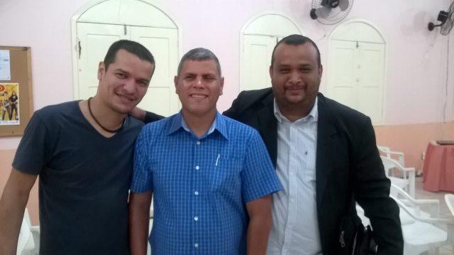 Irmão Rui e Pastor Breno